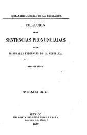 Semanario judicial de la Federación: Volumen 2;Volumen 11