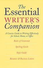 The Essential Writer's Companion
