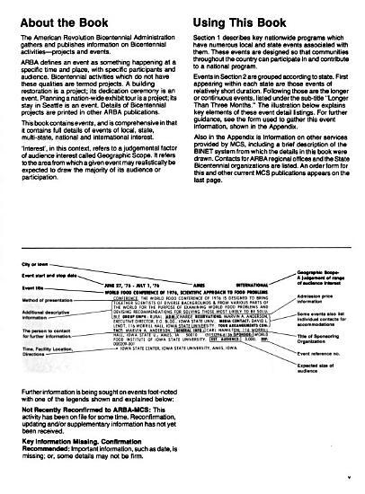 Comprehensive Calendar of Bicentennial Events  Event Details for States East of the Mississippi River  Feb  1976 PDF