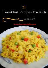 21 Breakfast Recipes for Kids