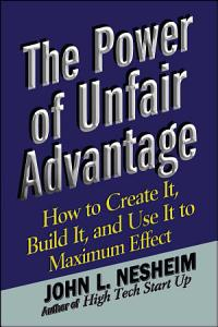 The Power of Unfair Advantage Book