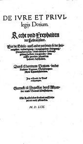 Mart. Pegii De iure et privilegiis dotium: Recht und Freyhaiten der Heuratsgüter