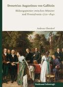 Demetrius Augustinus von Gallitzin PDF