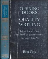 Opening Doors to Quality Writing 6 9 PDF