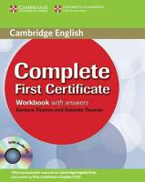 Complete First Certificate Workbook with Answers and Audio CD PDF