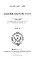 Transactions of the Edinburgh Geological Society PDF