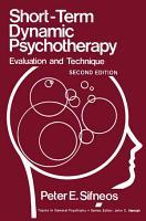 Short Term Dynamic Psychotherapy PDF