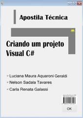 Apostila Técnica Criando Um Projeto Visual C#