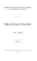 Transactions   North of England Institute of Mining and Mechanical Engineers PDF