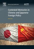 Contested Memories in Chinese and Japanese Foreign Policy PDF