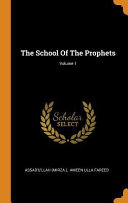 The School of the Prophets  PDF