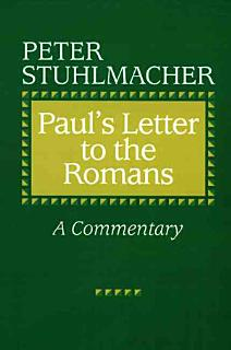 Paul s Letter to the Romans Book