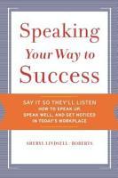 Speaking Your Way to Success PDF