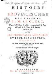 Histoire des Provinces Unies des Pays-Bas, par Jean Leclerc