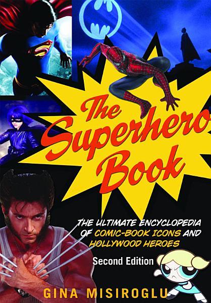 Download The Superhero Book Book