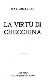 La virtù di Checchina