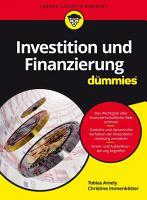 Investition und Finanzierung f  r Dummies PDF