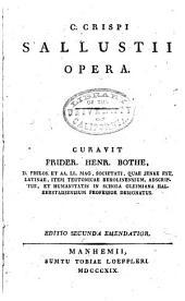 C. Crispi Sallustii Opera
