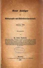 Anzeiger für Bibliographie und Bibliothekwissenschaft: Band 9
