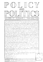 Policy and Politics PDF