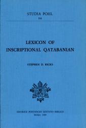 Lexicon of Inscriptional Qatabanian