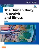 Study Guide for The Human Body in Health and Illness   E Book PDF