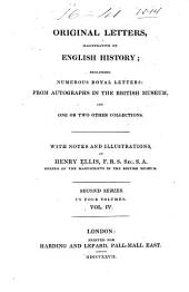 Original Letters, Illustrative of English History: Volume 4