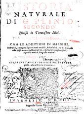 Historia Natvrale Di G. Plinio Secondo: Diuisa in Trentasette Libri