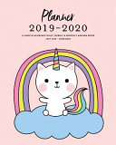 Download Planner 2019 2020 12 Month Academic Daily  Weekly   Monthly Agenda Book July 2019   June 2020 Book