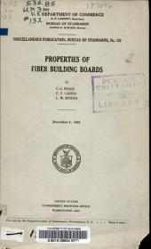 Properties of Fiber Building Boards