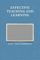 EFFECTIVE TEACHING AND LEARNING PDF