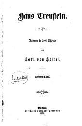 Haus Treustein: Roman in drei Theilen, Band 3
