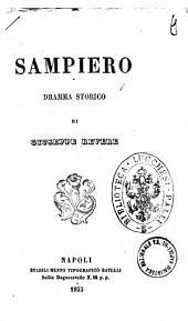 Sampiero dramma storico di Giuseppe Revere