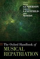 The Oxford Handbook of Musical Repatriation PDF