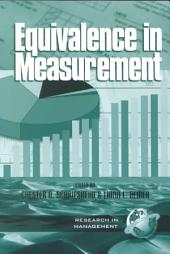Equivalence in Measurement