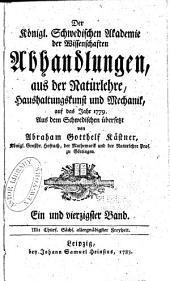 Abhandlungen aus der Naturlehre, Haushaltungskunst und Mechanik: Band 41