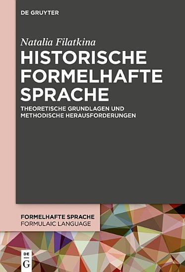 Historische formelhafte Sprache PDF