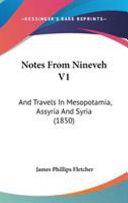 Notes from Nineveh V1