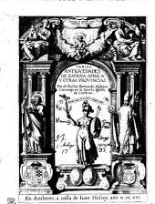 Varias antiguedades de España, Africa, y otras provincias