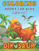 Dinosaur Coloring Books for Kids Ages 4 8 Book