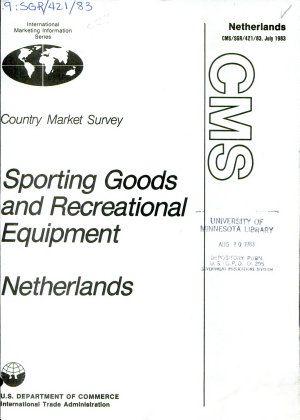 Sporting Goods and Recreational Equipment  Netherlands