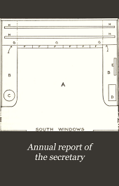 Annual Report of the Secretary: Volume 57, Part 1909