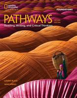 Pathways  Reading  Writing  and Critical Thinking Foundations PDF