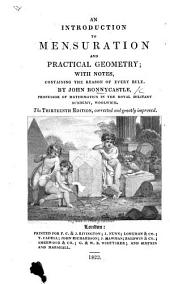 An Introduction to Mensuration and Practical Geometry ... The eleventh edition, corrected and greatly improved
