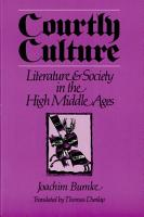 Courtly Culture PDF