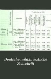 Deutsche militairärztliche Zeitschrift: Band 2