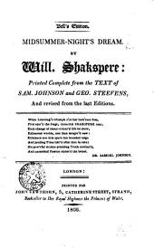 Midsummer-night's Dream