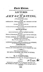 Lectures On The Art Of Writing PDF