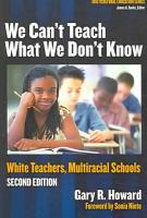 We Can t Teach what We Don t Know PDF