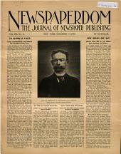 Newspaperdom: Volume 8, Issue 15